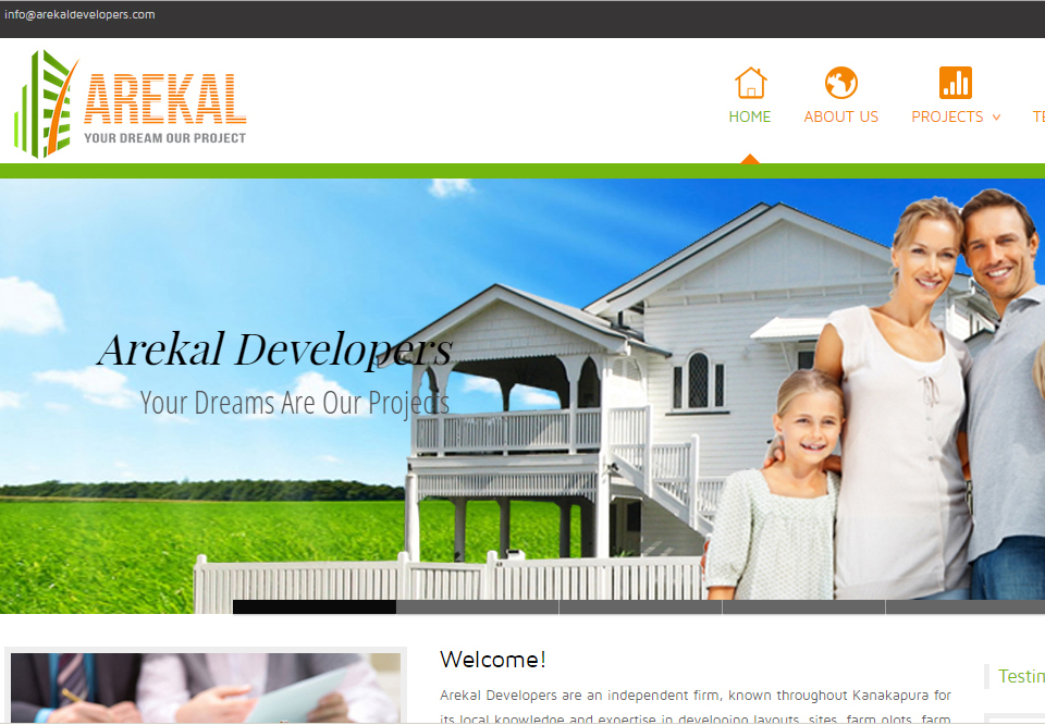Real Estate Website Designers Bangalore